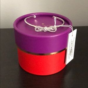 NWT - ♠️ Kate Spade silver bow bracelet